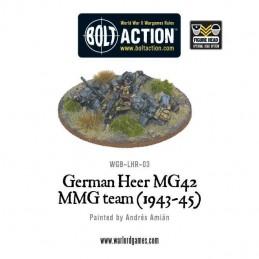 German Heer MG42 MMG Team...