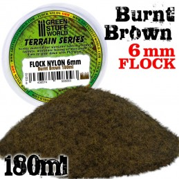 Herbe Statique 6 mm - Brun...