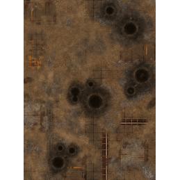 Tapis: Fallout zone 44''x60''