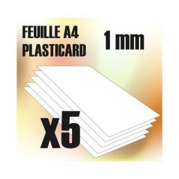 Plaque de Plasticard - 1 mm...