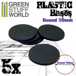 Socles Plastiques ROND 50...