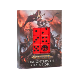Set de dés Daughters of Khaine