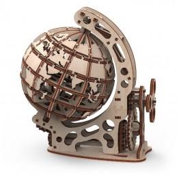 Globe taille S mobile en bois