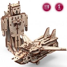 Robot-Avion modèle 3D...