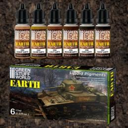 Set Pigments Liquides – Terre