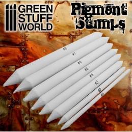 Set Estompes pour pigments x8