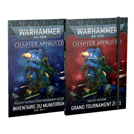 Chapter Approved: Pack de Missions Grand Tournament 2021 et Inventaire du Munitorum 2021 MkII