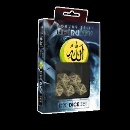 Set de dés D20 HAQQISLAM