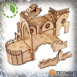 Chaire du couvent en ruine