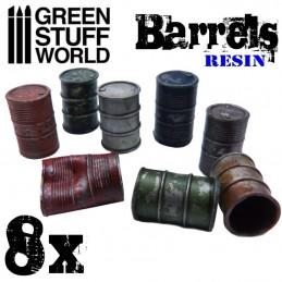 Barils en Résine x8