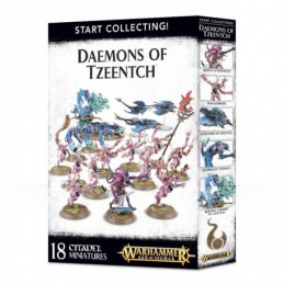 Boite START COLLECTING! DAEMONS OF TZEENTCH