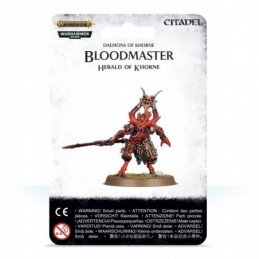 BLISTER BLOODMASTER HERALD OF KHORNE