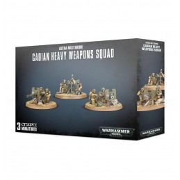 boite Cadian Heavy Weapon Squad