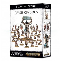 Boite START COLLECTING! BEASTS OF CHAOS