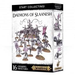 Boite START COLLECTING! DAEMONS OF SLAANESH