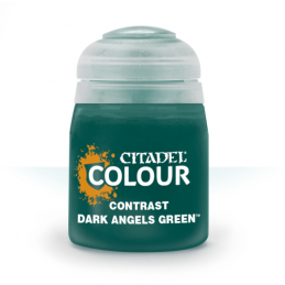 Pot de CONTRAST: DARK ANGELS GREEN (18ML