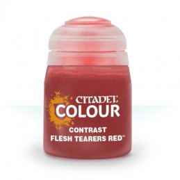 Pot de CONTRAST: FLESH TEARERS RED (18ML)