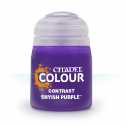 Pot de CONTRAST: SHYISH PURPLE (18ML)