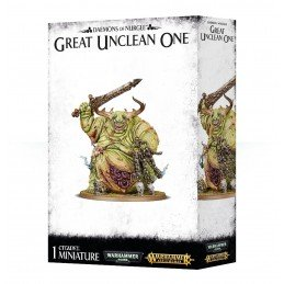 Boite DAEMONS OF NURGLE GREAT UNCLEAN ONE / ROTIGUS