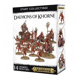 Boite START COLLECTING! DAEMONS OF KHORNE