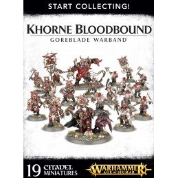 Boite START COLLECTING! GOREBLADE WARBAND