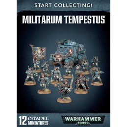 Boite START COLLECTING! MILITARUM TEMPESTUS