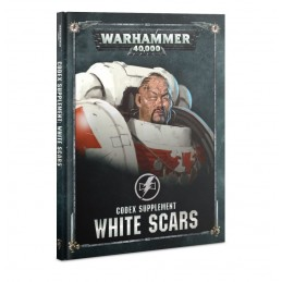 Couverture CODEX: WHITE SCARS