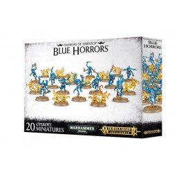 Boite DAEMONS OF TZEENTCH BLUE HORRORS ET BRIMSTONE HORRORS