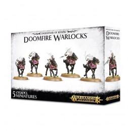 Boite DAUGHTERS OF KHAINE DOOMFIRE WARLOCKS / DARK RIDERS