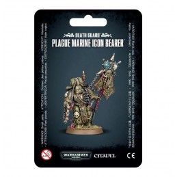 Blister DEATH GUARD PLAGUE MARINE ICON BEARER