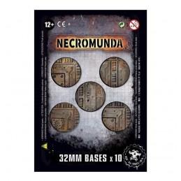 Boite SOCLES NECROMUNDA 32MM X10