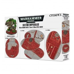 Boite SOCLES 60MM RD+75/90MM OVAL SECTOR IMPERIALIS X18