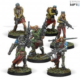 Figurines starter pack Caledonian Highlander Army (Ariadna Sectorial )