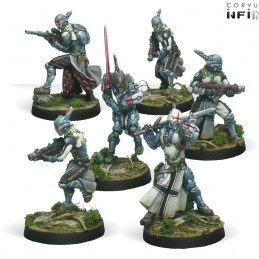 Figurines starter pack Military Order (PanOceania Sectorial)