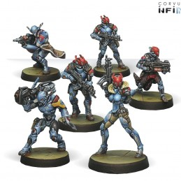 Figurines Starter Pack Neoterran Capitaline Army (PanOceania Sectorial)