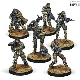 Figurines Starter Pack Hassassin Bahram (Haqqislam Sectorial Army)