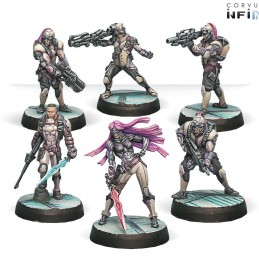 Figurines Starter Pack The Steel Phalanx (ALEPH Sectorial)