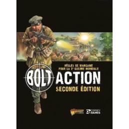 Couverture Livre de règles Bolt Action V2