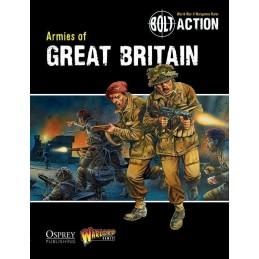 couverture Livre: Armies of Great Britain