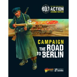 Couverture Livre: The Road to Berlin