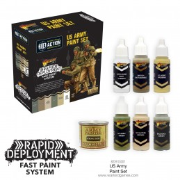 Set de peinture US Bolt Action
