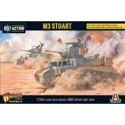 Boite Tank M3 Stuart /M3A1 / M3 light
