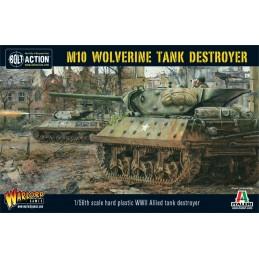 Boite Tank M10 Wolverine tank Destroyer
