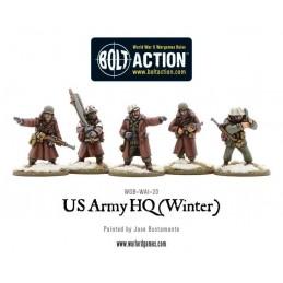 US Army Command (hiver) de face