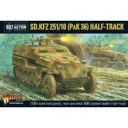 Boite Half-Track Sd.Kfz 251/10 Pak 36