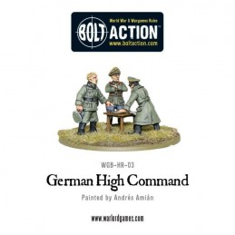 German High Command de face