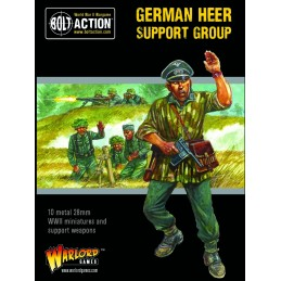 Boite German Heer Support Group (HQ, Mortar & MMG)
