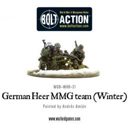 German Heer MMG team (hiver) de 3/4