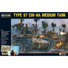 Boite Chi-Ha Japanese tank