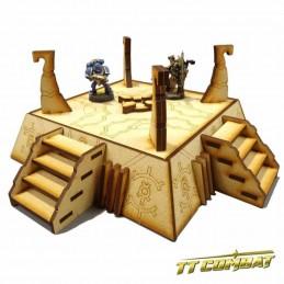 Bunker Cybernétique avec figurines